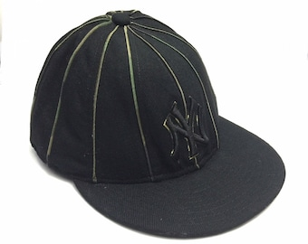 c90cad0f5ed3f Vintage New York Yankees Full Cap   New York Yankees by New Era Wool Baseball  Cap