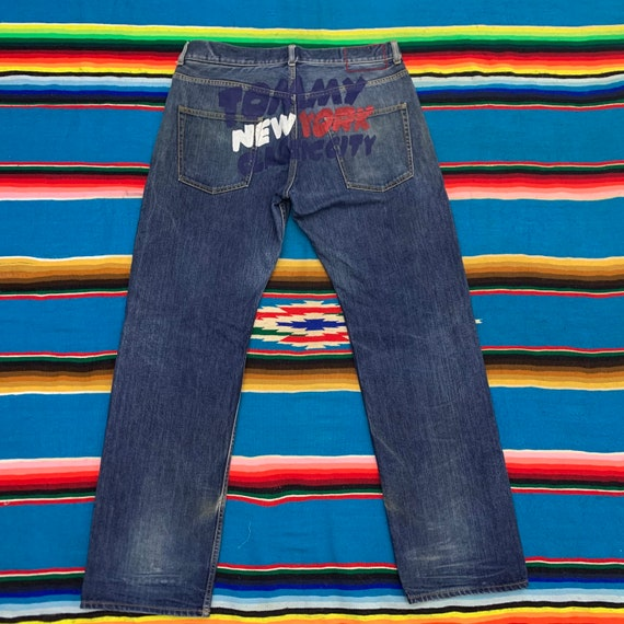 Vintage Tommy New York Classic City Jeans Distress