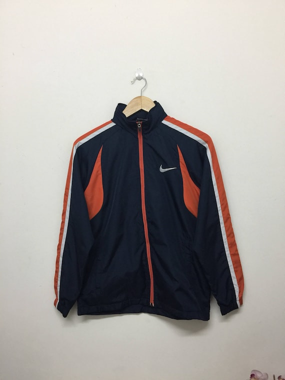7252ed8a3d Nike Boys Jacket Nike Training Zip Up Jacket Sportswear Navy