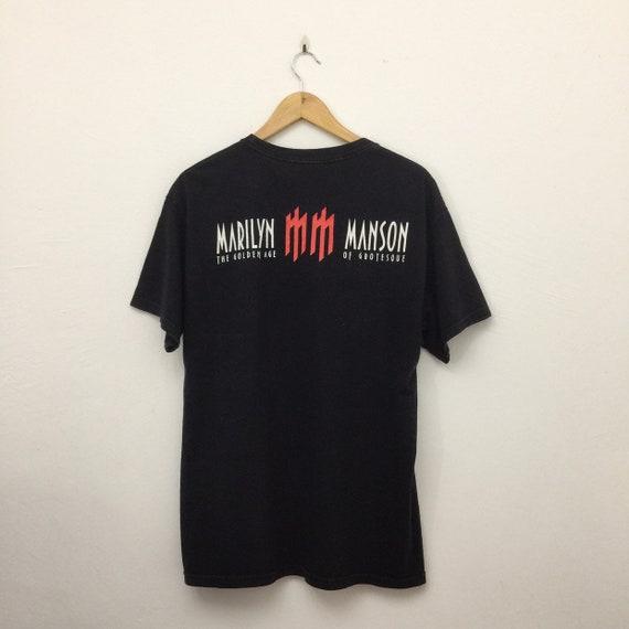Marilyn Manson Band T Shirt - Marilyn Manson The G