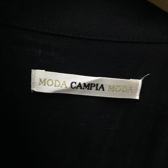 Campia Moda Hawaiian Aloha Shirt - Size M - image 7