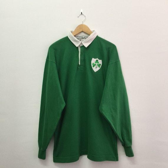Vintage Ireland Rugby Shirt Mens Size L / 90s Iris
