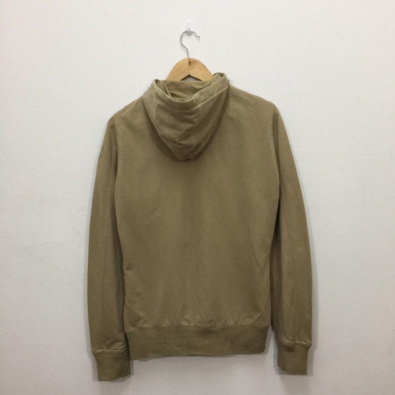 Napapijri Hoodie Womens Size M  Napapijri Full Zip Brown Hooded Sweater