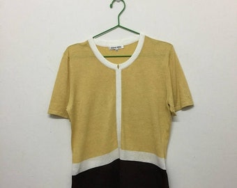 15% SALE Hanae Mori Women's T-Shirt/Hanae Mori T-Shirt/Japanese Designer/Size 40
