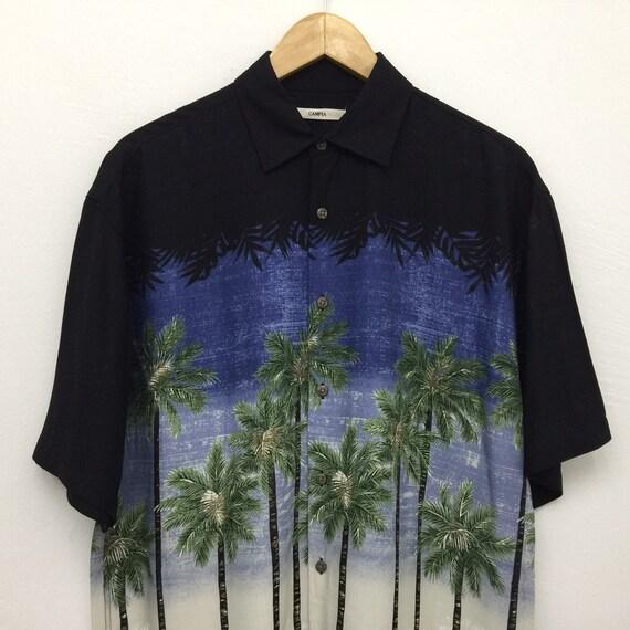 Campia Moda Hawaiian Aloha Shirt - Size M - image 4