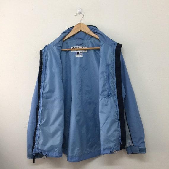 Columbia Vintage Jacke Frauen Größe M Columbia Sportswear Company Core Interchange Full Zip blau Outdoor Wanderjacke Vintage Columbia