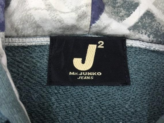 Mr Junko Hoodie/Vintage Junko J2 Mr Junko Hoodie/Vintage Jeans brodé gros Logo Zip Up japonais/Sweat à capuche de marque/taille M 80c9f1