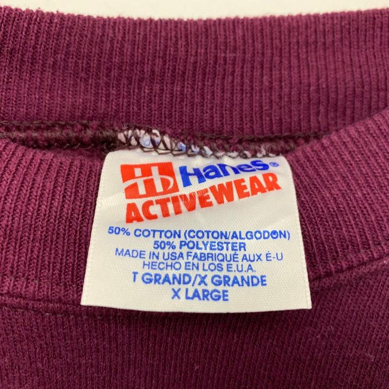 Vintage 90s Alaska Girl Embroidered Crewneck Sweatshirt Made In Usa Size Large
