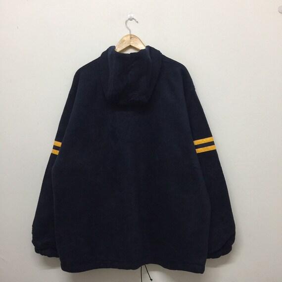 a3d87e622f88 Champion Fleece Jacket Mens Size XL   Vintage 90s Champion