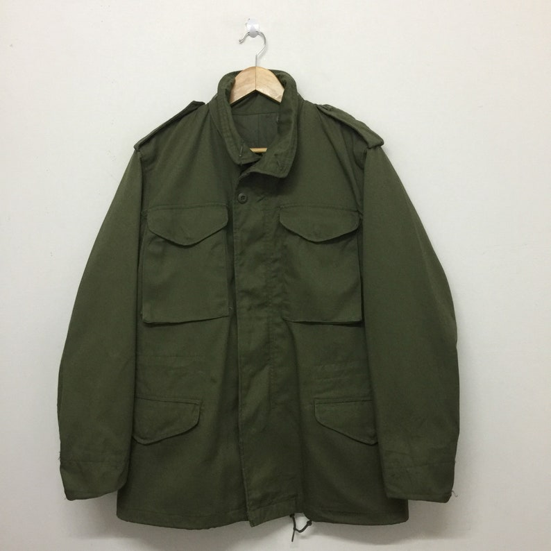 M 65 Field Jacket Vintage M65 Dba Winfield International Ltd Etsy