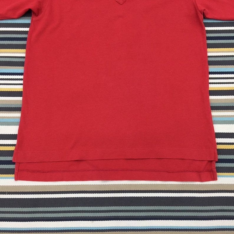 22c9d86c0450f Vintage Nike Polo Shirt Mens Size S / Nike Golf Small Logo Red Collared  Polo Shirt