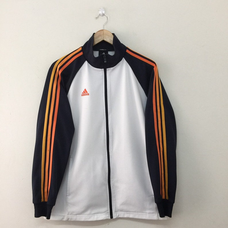 44ff5df91d20 Adidas Jacket Men Size S   Adidas Climalite Full Zip Colourful