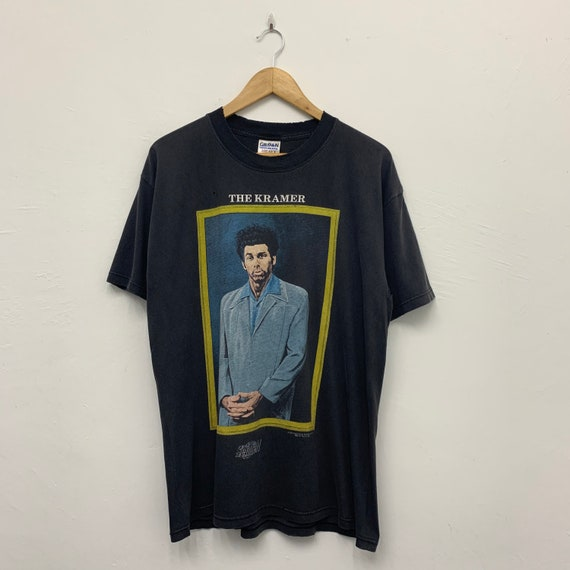 Vintage The Kramer Seinfeld Tshirt Distressed Cond