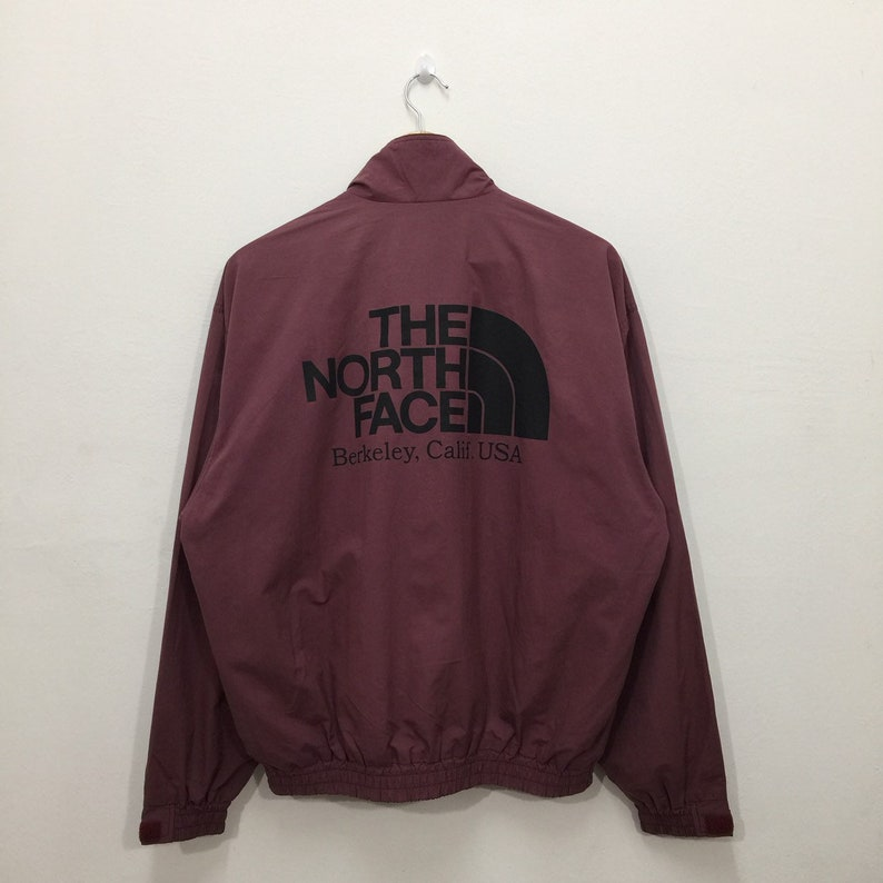 3adaf3dac Vintage The North Face Jacket Mens Size L / The North Face Pocketable Big  Logo Light Jacket / The North Face Windbreaker