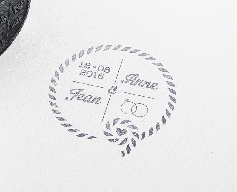 Navy Wedding Rubber Stamp Custom Wedding Invitations Stamp Etsy