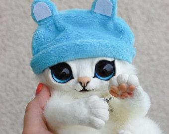 IN STOCK! Kitten in a hat