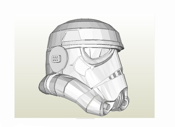 image about Stormtrooper Printable called Stormtrooper helmet Star Wars IV A refreshing be expecting Do-it-yourself printable paper fashion habit. Cosplay. Paper get together mask. Papercraft habit template