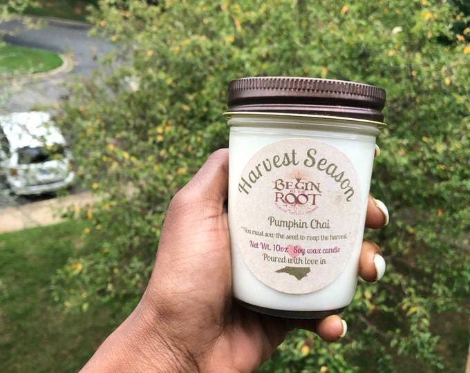 Harvest Season (Pumpkin Chai) 8oz