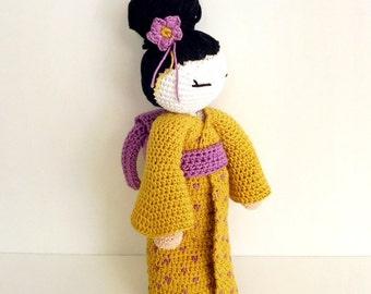 Geisha Amigurumi Crochet