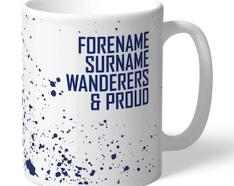 Bolton Wanderers FC Personalised Proud Mug