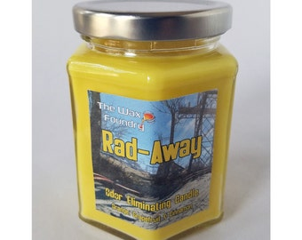 Fallout - Rad-Away 8oz Soy Candle