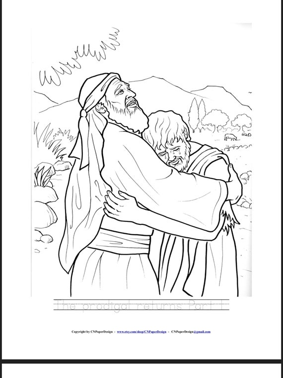 Set 3 Bible Story Coloring Book , JW Kids, Family worship, Gift Ideas, JW  Kids Gifts ***. Instant Download.