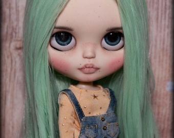 Sweet custom Blythe doll. OOAK Blythe. TBL