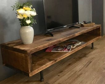Dark Wood Tv Credenza : Black tv console table ideas