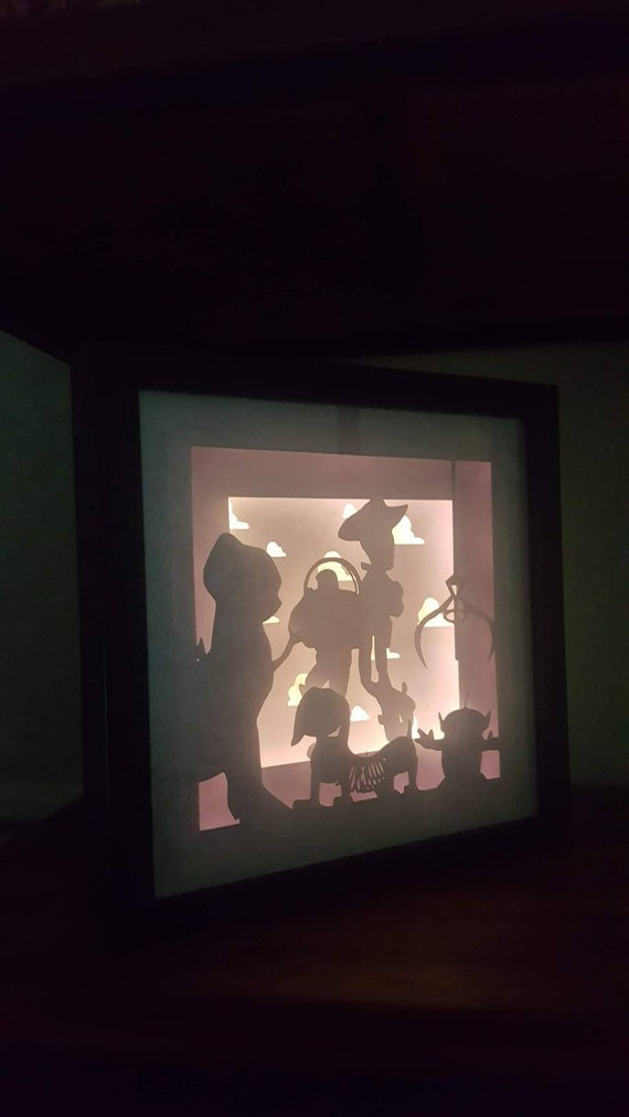 You Got A Friend In Me.... Toy Story inspired Light up Shadow Box