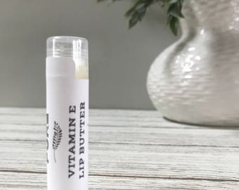All Natural Vitamin E Lip Butter