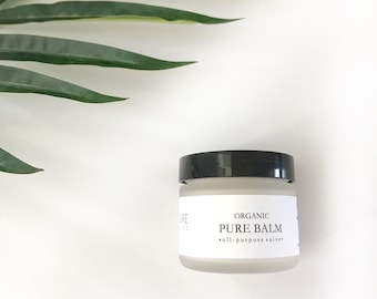 Organic Pure Skin Balm : clean + natural