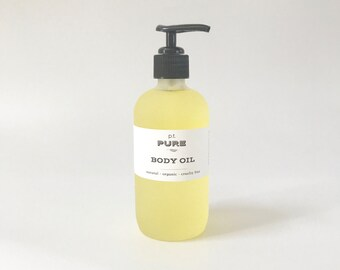 Organic Vitamin E Body Oil