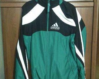 ADIDAS Equipment tracksuit, blue vintage Adidas track suit, Adidas set, jacket pants hip-hop suit size M L Medium Large NWT
