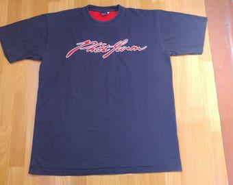 fb8a345e0 PHAT FARM jersey, vintage blue 90s hip-hop clothing, 1990s hip hop shirt,  og, gangsta rap, size XXL 2XL