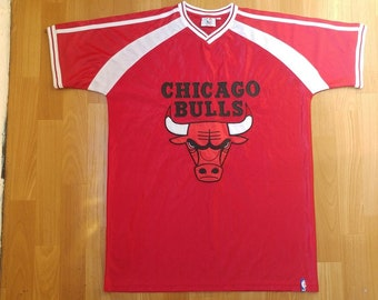 more photos 57c1c 07aea Chicago bulls jersey | Etsy NZ
