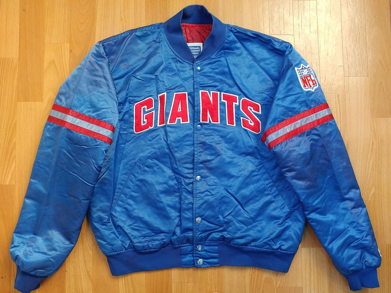 420fdad5533 NFL STARTER New York Giants Jacket vintage coat parka