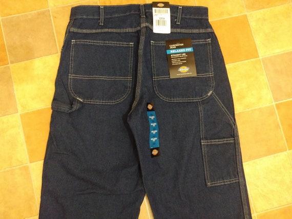 New Dickies jeans, vintage baggy jeans, deadstock
