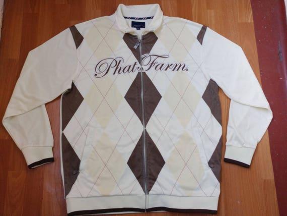 PHAT FARM jacket vintage 90s hip-hop clothing old school | Etsy