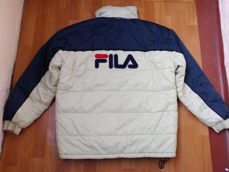 School HopOld Des Vêtements BlancOgProtection Gangsta RapL Coupe Hip VesteVeste Vent Vintage Fila 1990 Années 90 0w8nOkP