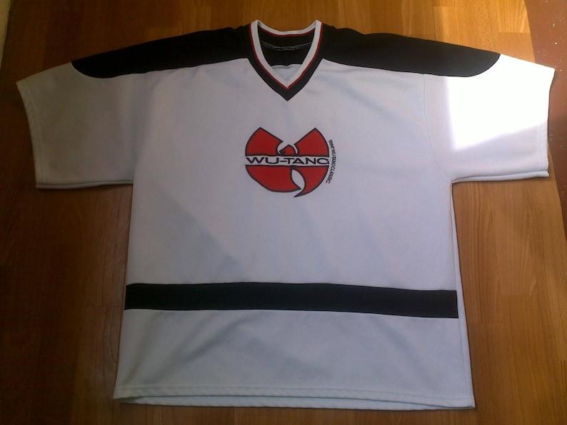 ca4e1c3dfd5 Wu-Wear jersey vintage t-shirt of Wu Tang Clan brand 90s