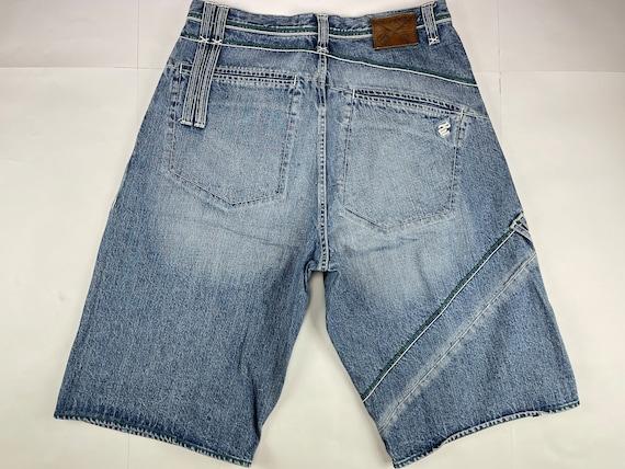 Rocawear jeans vintage baggy pants old school 90s hip hop clothing gangsta rap Roca Wear 1990s hip-hop blue streetwear size W 34