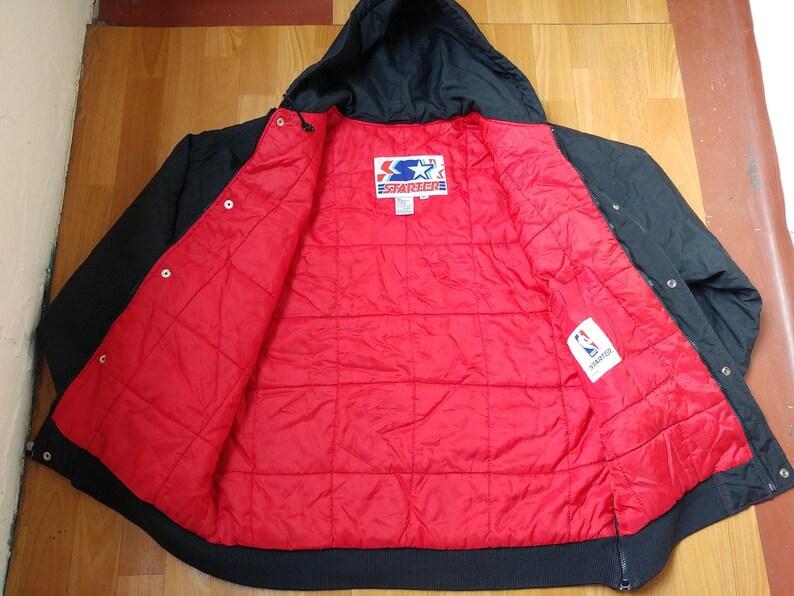 Noir Vêtements Zip Parka90 Hop Des Xl Veste S Hip Taille