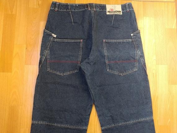 Mecca USA jeans, blue vintage baggy jeans, 90s hip