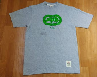 ECKO UNLTD jersey, vintage t-shirt, 90s hip hop clothing, 1990s hip-hop, OG, gangsta rap, size M Medium