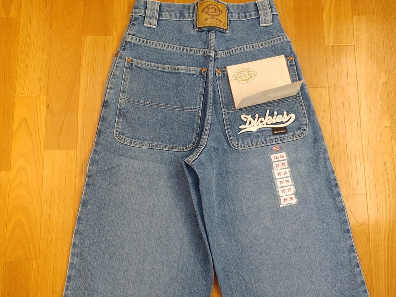 5537dfcbb48 New Dickies jeans vintage baggy jeans Big Daddy hip-hop