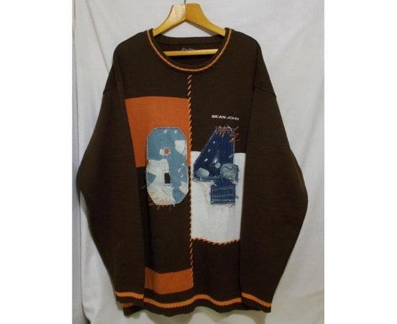 Sean John sweatshirt, vintage hip-hop sweater, 90s
