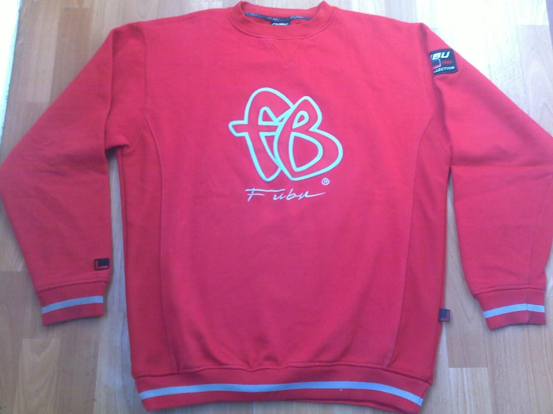 FUBU Sweatshirt rot Vintage Longsleeve Shirt 90er Jahre   Etsy
