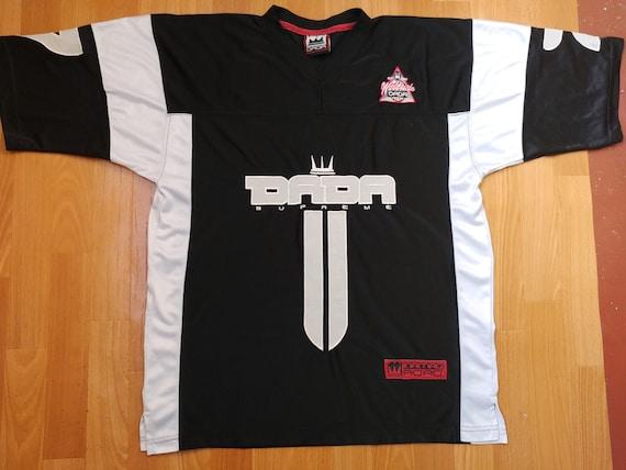 Dada Supreme jersey, black vintage hip-hop t-shirt