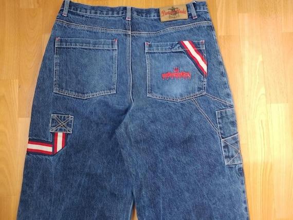 Damani Dada jeans, vintage baggy jeans, 90s hip-ho
