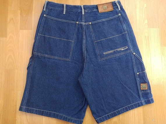 Dada Supreme jeans shorts, vintage Damani baggy je